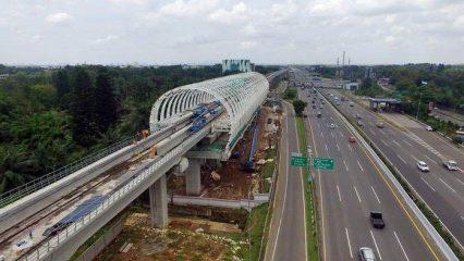 LRT Jalur Cibubur-Cawang Diuji Coba #EXpoRumah.com-yd